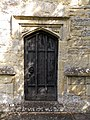 All Saints Church, Middle Claydon, Bucks, England - tower west door.jpg