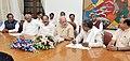 All party delegation from the Karnataka led by the Chief Minister of Karnataka, Shri Siddaramaiah calling on the Prime Minister, Shri Narendra Modi, in New Delhi on April 30, 2015 (1).jpg