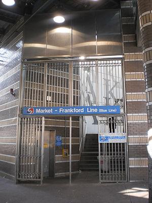 Allegheny station (Market–Frankford Line) - Image: Alleghaeny