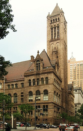 Fifth Avenue (Pittsburgh) - Image: Allegheny County Courthouse