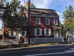 Allen House (Shrewsbury, New Jersey) - Image: Allen House Shrewsbury NJ