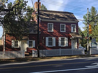 National Register of Historic Places listings in Monmouth County, New Jersey - Image: Allen House Shrewsbury NJ
