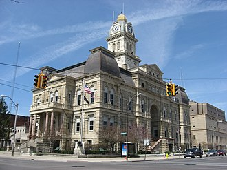 Lima, Ohio - Allen County Courthouse