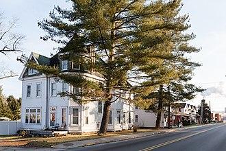 Allenport, Washington County, Pennsylvania - Intersection of Main St and Bridge St
