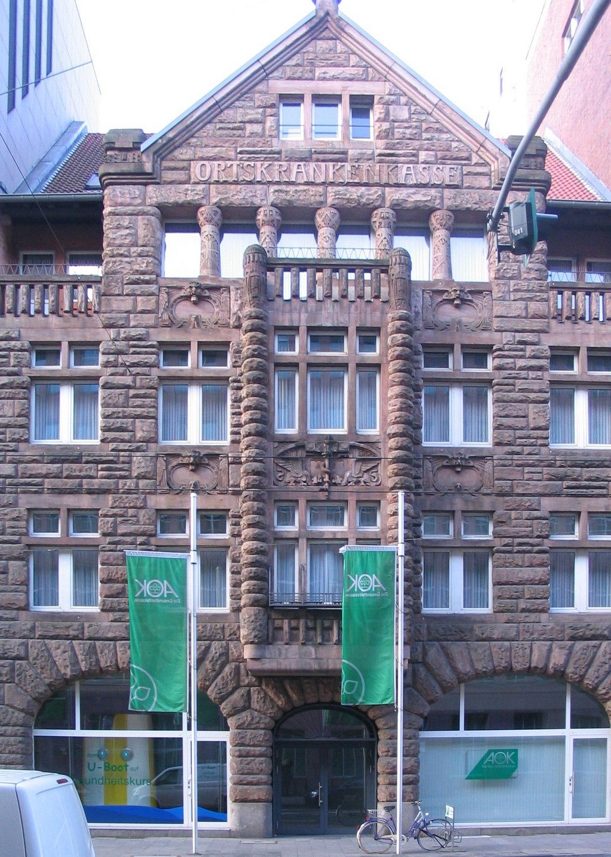 aok düsseldorf kasernenstraße