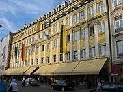 Das Ladengeschäft der Firma Dallmayr in der Dienerstraße in München