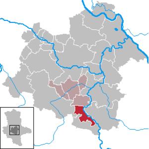 Alsleben - Image: Alsleben (Saale) in SLK