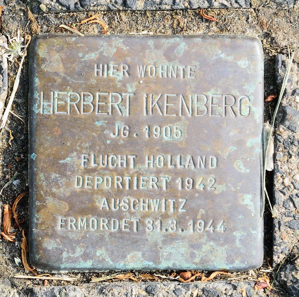 Altenbeken - 2016-05-29 - Stolperstein Herbert Ikenberg.jpg