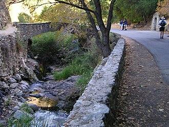 Alum Rock Park - One of several bridges over Penitencia Creek