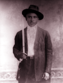 Amédé Ardoin vers 1912