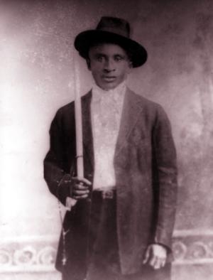 Amédé Ardoin - Amédé Ardoin around 1912