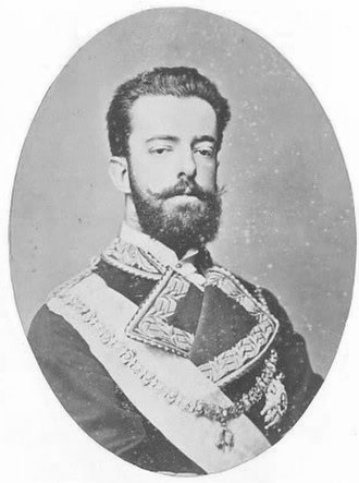 Amadeo I of Spain - Image: Amadeo king of Spain