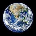 Amazing image of the Earth. Original from NASA. Digitally enhanced by rawpixel. - 41997990765.jpg