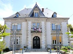 Ambazac - The town hall in Ambazac