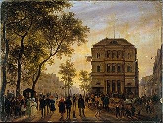 Théâtre de l'Ambigu-Comique - The Théâtre de l'Ambigu-Comique on the boulevard Saint-Martin