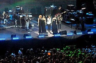 Laura Pausini - Concert of Amiche per l'Abruzzo.
