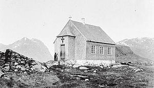 The church in Ammassivik, 1892