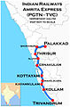 Amritha Express (Palakkad - Trivandrum) Route map.jpg
