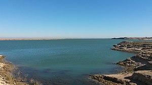 Lake Qadisiyah - Haditha Dam Lake
