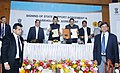 "Anand Sharma at the ""Signing of State Support Agreement & Share Holders Agreement for DMIC (Delhi Mumbai Industrial Corridor Trust) Project in Maharashtra"", in Mumbai. The Chief Minister of Maharashtra.jpg"