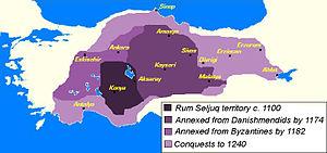 Aydınids - Image: Anatolian Seljuk Sultanate