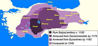Isfendiyarids - Image: Anatolian Seljuk Sultanate