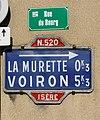 Ancien panneau indciateur à La Murette - 2017-10-16.jpg