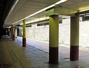 Anderston railway station - Image: Anderston 5