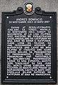 Andrés Bonifacio historical marker at the Liwasang Bonifacio, Manila.jpg