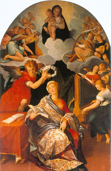 File:Andrés de Concha - Saint Cecilia - Google Art Project.jpg