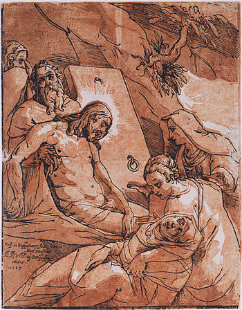 The Lamentation Over the Body of Christ by And...