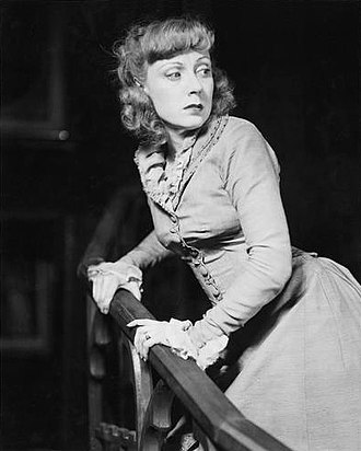 Gas Light - Judith Evelyn in the Broadway production of Angel Street