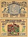 Angerburg (Węgorzewo) - 25Pf., 1921.jpg