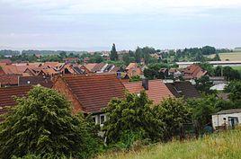 View from Anisberg to Derenburg