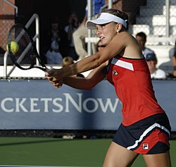 Anna Chakvetadze at the 2009 US Open 11.jpg