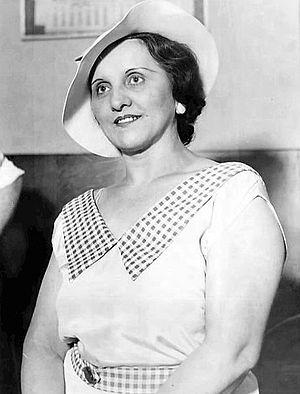 Ana Cumpănaș - Cumpănaș in 1934, two days after Dillinger had been killed