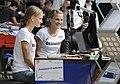 Anna und Lisa Hahner bei der Olympia-Einkleidung Hannover 2016 (Martin Rulsch) 12.jpg