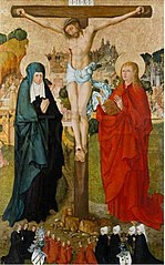 The Crucifixion with Donor Portraits of Wigand Märkel and His Family