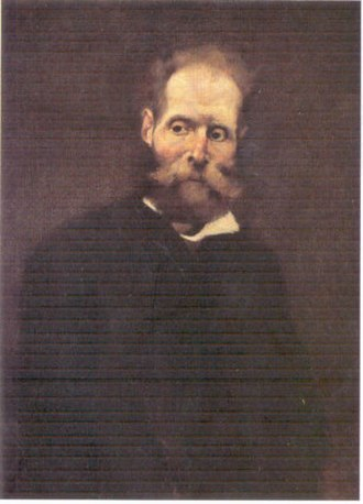 Antero de Quental - A late portrait of Antero de Quental by Columbano Bordalo Pinheiro