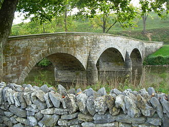 Antietam National Battlefield - Burnside's Bridge.
