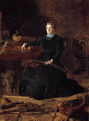 Antiquated Music (Portrait of Sarah Sagehorn Frishmuth)