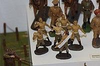 Antique toy German soldiers finishing their bath (24571776533).jpg