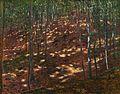 Antonín Slavíček, Slunce v lese, 1898, olej na plátně, 90 x 115 cm.jpg