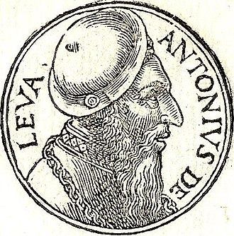 "Antonio de Leyva, Duke of Terranova - From ""Promptuarii Iconum Insigniorum"""