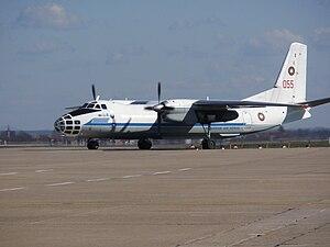 Antonov An-30 - Bulgarian Air Force An-30