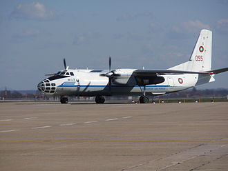 Antonov An-30 - Bulgarian Air Force An-30