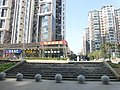 Apartment buildings next to Nanhu East Station - P1520496.JPG