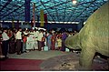 Apatosaurus - Dinosaurs Alive Exhibition - Science City - Calcutta 1995 June-July 100.JPG