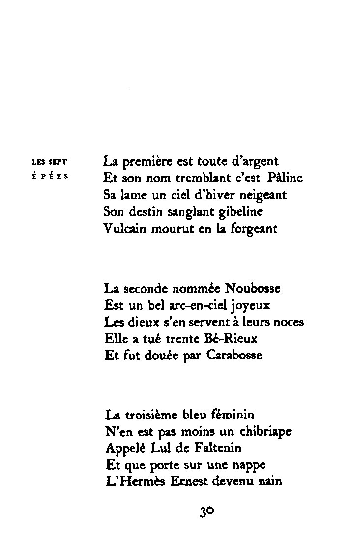Une Rencontre Poeme