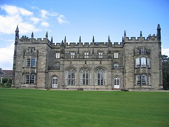 Arbury Hall - South front of Arbury Hall
